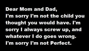 Parents Don't Love Me
